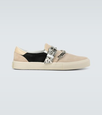 Amiri Bandana Chain slip-on shoes