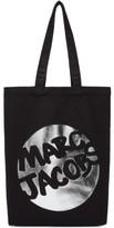 Marc Jacobs Black Logo Circle Tote