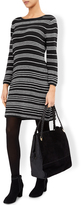 Monsoon Candy Stripe Knitted Dress