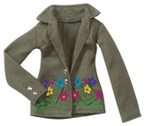 MGA Entertainment Army Green Flower Jacket