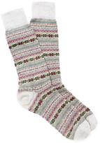 J.Mclaughlin Fairisle Jacquard Socks