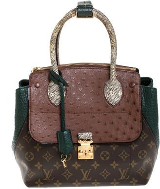 Louis Vuitton Green Exotique Monogram Limited Edition Majestueux PM Bag
