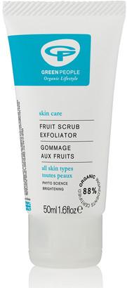 Green People Fruit Scrub Facial Exfoliator (50ml)
