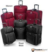 Traveler's Choice Travelers Choice 'El Dorado' 3-piece Ballistic Nylon Luggage Set
