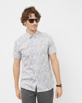 Ted Baker Graphic floral cotton shirt