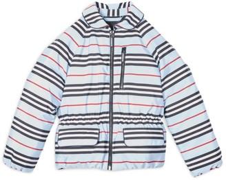 Burberry Kids Icon Stripe Down Jacket (3-14 years)