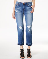 Joe's Jeans The Ex-Lover Ripped Mallie Wash Cropped Straight Jeans