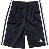 adidas Boys 4-7x Side-Striped Mesh Shorts