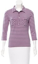 Cacharel Striped Long Sleeve Top