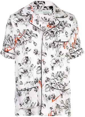 Off-White x The Webster floral pajama shirt