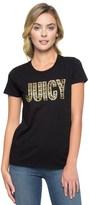 Juicy Couture Logo Juicy Gems Short Sleeve Tee