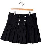 Burberry Girls' Pleated Mini Skirt
