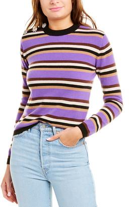 Ganni Crew Neck Cashmere Sweater