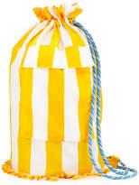 Double J Pellicano Striped Silk Backpack