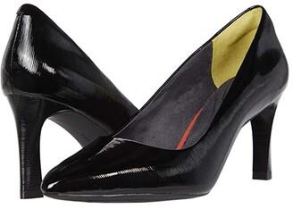 Rockport Total Motion Sheehan Pump (Black Patent) Women's Shoes