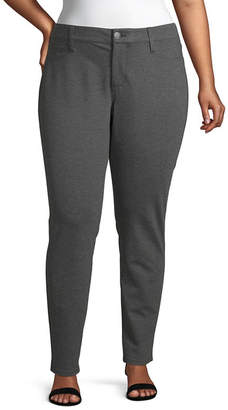 A.N.A Plus Womens Mid Rise Skinny Pull-On Pants