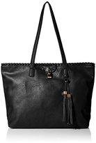 MG Collection Katja Tassel Shopper Shoulder Bag