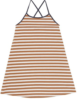Caramel Tooting stretch-cotton dress