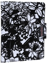 JanSport 2.0 Folio For iPad(R) (White/Black Crayon Flower) - Bags and Luggage