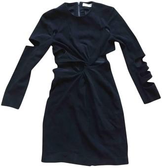Preen Black Suede Dress for Women