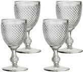 Vista Alegre Bicos Water Goblets, Set of 4