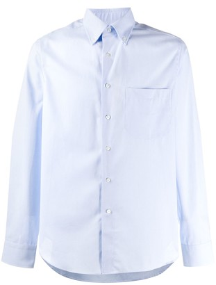 Canali Cotton Buttoned Shirt