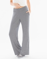 Soma Intimates French Terry Wide Leg Pants