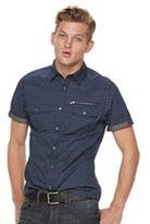 Rock & Republic Men's Print Button-Down Shirt