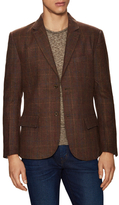 Jachs Wool Checkered Notch Lapel Sportcoat