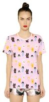 Au Jour Le Jour Doll Printed Cotton T-Shirt