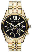 Michael Kors Lexington Gold Stainless Steel Chronograph Watch