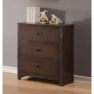 Simple Relax Antique Charcoal Brown Chest