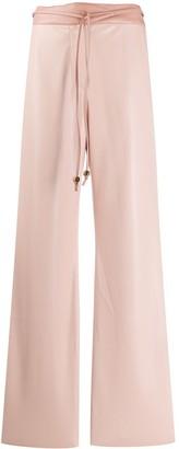 Nanushka Faux-Leather Drawstring Trousers