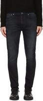 Nudie Jeans Black Lean Dean Jeans