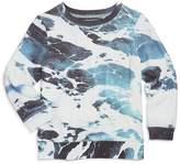 Sol Angeles Boys' Frothy Waves Print Sweatshirt - Little Kid