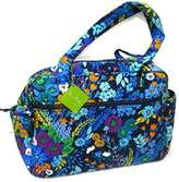 Vera Bradley Baby Bag (Midnight Blues with Solid Navy Interior) by