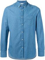 Officine Generale longsleeve denim shirt - men - Cotton - S