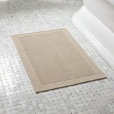 Crate & Barrel Westport Sand Bath Rug