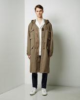 Maison Margiela Herringbone Linen Coat