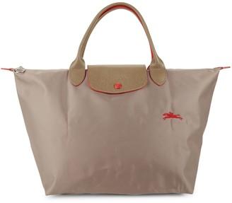Longchamp Foldable Nylon Zip Tote
