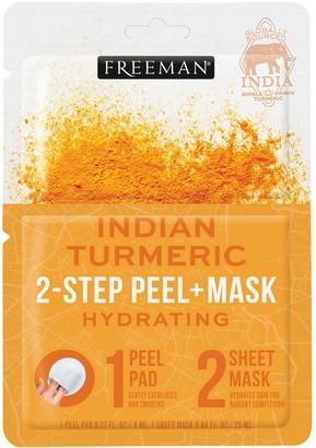 Freeman 2-Step Peel Pad + Sheet Mask Indian Turmeric