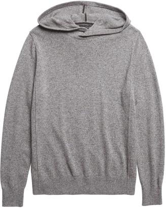Banana Republic Merino-Yak Blend Sweater Hoodie