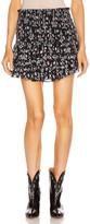 Etoile Isabel Marant Frinley Skirt in Dark Midnight | FWRD