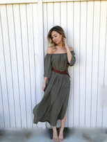 Tysa Senorita Dress In Olive