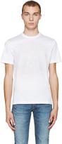 Versace White Embroidered Medusa T-Shirt