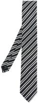 Dolce & Gabbana diagonal stripe tie - men - Silk - One Size