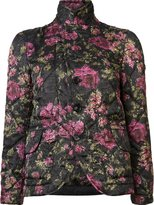 Comme des Garcons floral quilted jacket - women - Polyester - S