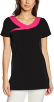 Premier Womens/Ladies Ivy Beauty And Spa Tunic (Contrast Neckline)