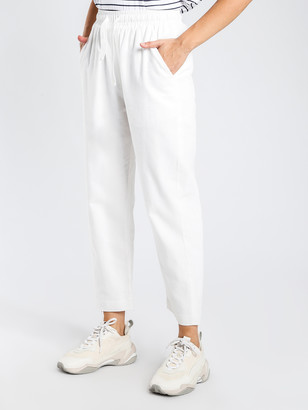 Nude Lucy Medina Pants in White Linen
