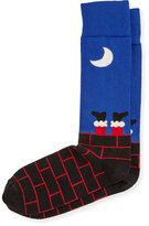 Neiman Marcus Chimney Crew Socks